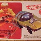 ORIGINAL 1969 Mattel Hot Wheels International Collector's Catalog, VG, complete, thin version