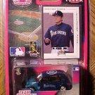 2001 Fleer White Rose Collectibles Kazuhiro Sasaki baseball card & die cast PT Cruiser, MIP