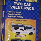 Road & Track 2 Viper value pack - GT2 & GTS, MIP, made by Maisto, undated, diecast, die cast