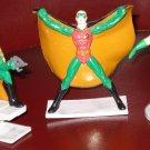 """3 diff Robin (the Boy Wonder) PVC figures, 1980's & 90's. 3"""" tall.  Batman's sidekick"""