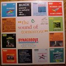 Buick Presents: The Sound of Tomorrow LP vinyl record album 33rpm, 1960's, Album NM, jacket VG