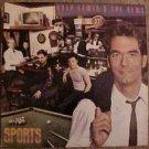 Huey Lewis & The News: Sports LP vinyl record album 33rpm, 1983, EX