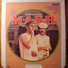 MASH Video Disc CED, Elliot Gould, Donald Sutherland, Sally Kellerman, Robert Duvall