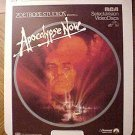 Apocalypse Now Video Disc CED, Marlon Brando, Robert Duvall, Martin Sheen, Harrison Ford