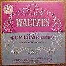 "Guy Lombardo & Royal Canadians play Waltzes 10"" LP record album, VG/EX, 1950's"