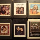 Willie Nelson 8-Track tape assortment #5, 6 tapes w/ Waylon Jennings, Ray Price, Faron Young, MORE!