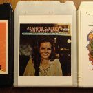 Jeannie C. Riley 8-Track tape assortment 3 tapes - Greatest Hits, Generation Gap, World of Country
