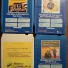 The Mills Brothers 8-Track tape assortment 4 tapes - Cab Driver, Best of (2 diff), Great hits,