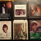 Female Pop Singers 8-track tapes assortment 6 tapes Carole King, Debbie Boone, Helen reddy, more