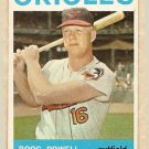 1964 Topps baseball card #89 Boog Powell EX Baltimore Orioles