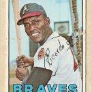1967 Topps baseball card #35 Rico Carty VG Atlanta Braves