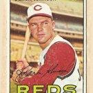 1967 Topps baseball card #135 Deron Johnson G/VG Cincinnati Reds