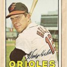 1967 Topps baseball card #251 Woody Held VG Baltimore orioles