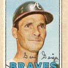 1967 Topps baseball card #566 Gary Geiger VG Atlanta Braves