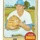 1968 Topps baseball card #281 Jim Campanis VG (light crease) Los Angeles Dodgers