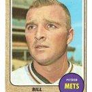 1968 Topps baseball card #536 (B) Bill Short EX New York Mets