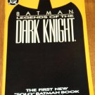 DC Comics Batman Legends of the Dark Knight #1 Yellow cover