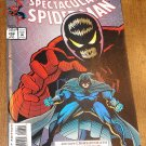 Peter Parker, The Spectacular Spider-man (spiderman) comic book #208 Marvel Comics