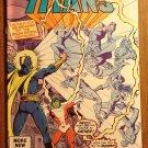 DC Comics New Teen Titans #14 comic book