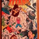 DC Comics New Teen Titans #17 comic book