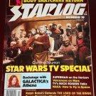 Starlog magazine #19 1979 Star Wars on TV, Leonard Nimoy Body Snatchers Battlestar Galactica Athena