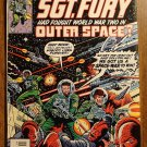 Marvel Comics - What if? #14 comic book, What if Sgt. Fury had Fought World War II in Outer Space?