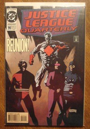 Justice League Quarterly #14 comic book - DC Comics