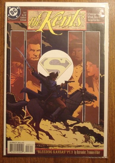 The Kents #3 comic book - DC Comics - Smallville, Superman