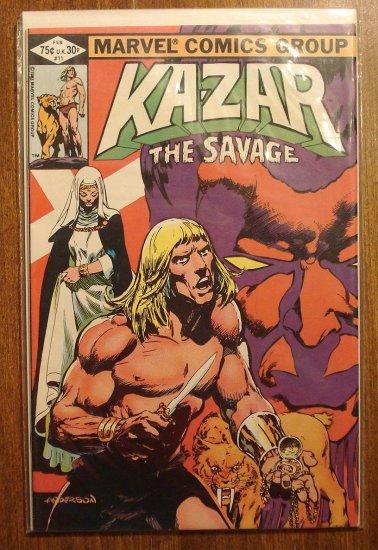 Ka-Zar #11 comic book - Marvel Comics