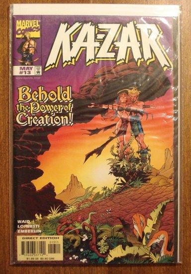 Ka-Zar #13 comic book - Marvel Comics