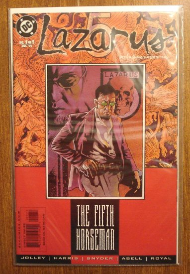 Lazarus #1 comic book - DC Comics