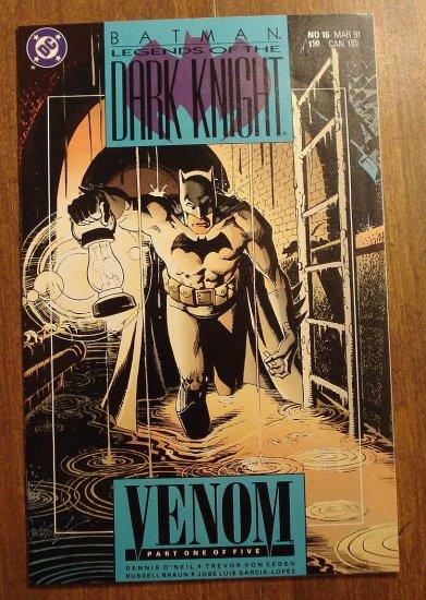 DC Comics Batman Legends of the Dark Knight #16 comic book, NM/M