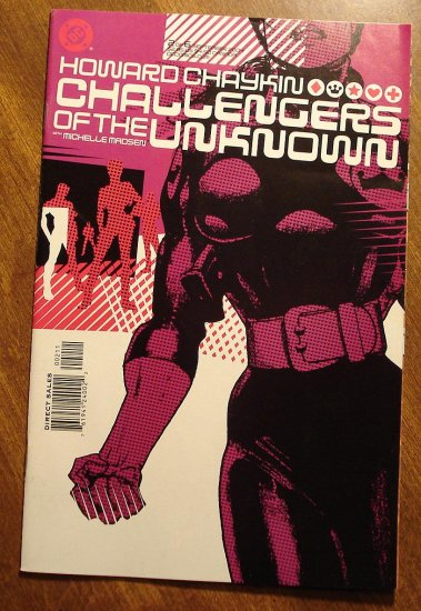 Challengers of the Unknown #2 comic book - DC Comics - Howard Chaykin