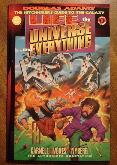 Life, The Universe and Everything #1 comic book - DC Comics Hitchhiker's Guide to the Galaxy
