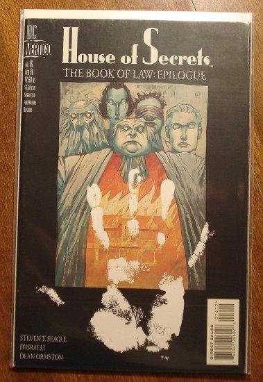 House of Secrets #16 comic book - DC (Vertigo) Comics