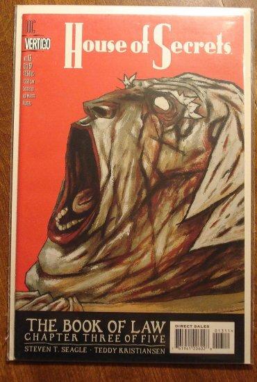 House of Secrets #13 comic book - DC (Vertigo) Comics