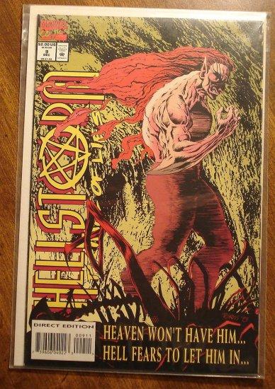 HellStorm Prince of Lies #9 comic book - Marvel comics