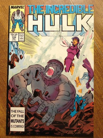 Marvel Comics - The Incredible Hulk #338 comic book
