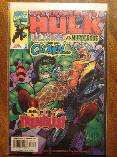 Marvel Comics - The Incredible Hulk #471 comic book