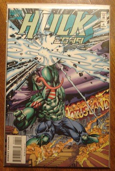 Hulk 2099 #4 comic book - Marvel Comics