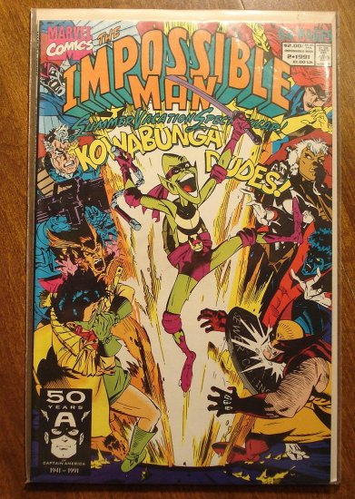 Impossible Man #2 64 page comic book - Marvel Comics