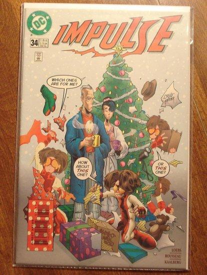 Impulse #34 comic book - DC Comics