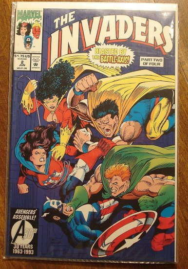 Invaders #2 (of 4) comic book - Marvel comics