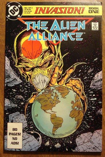 Invasion! Alien Alliance Book #1 comic book - DC Comics