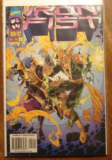 Iron Fist #2 comic book - Marvel comics
