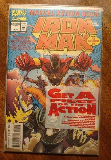 Marvel Action Hour - Iron Man #1 comic book - Marvel Comics
