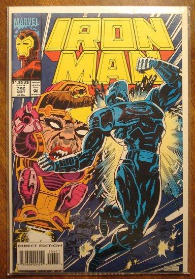 The Invincible Iron Man #296 comic book - Marvel Comics