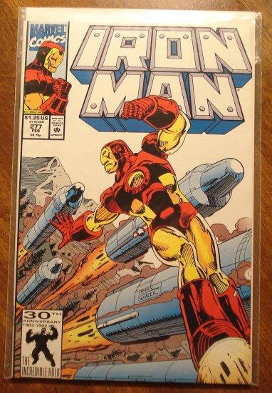The Invincible Iron Man #277 comic book - Marvel Comics
