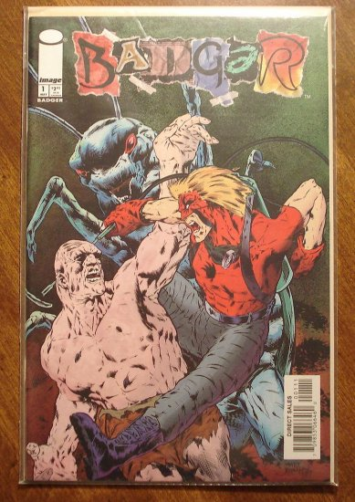 Badger #1 comic book - Image Comics