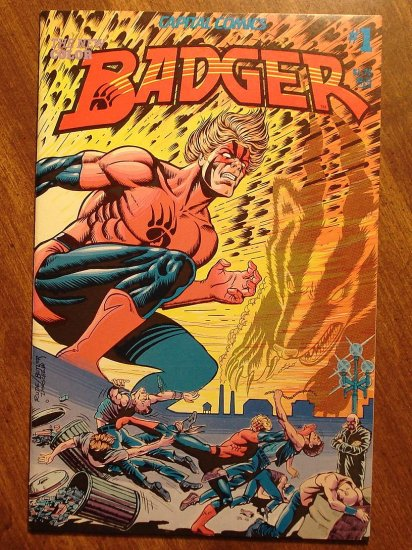 Badger #1 comic book - Capital Comics - The ORIGINAL